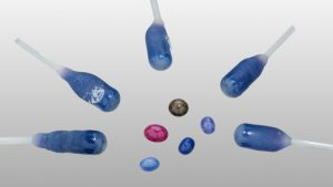 synthetic gemstone sapphire