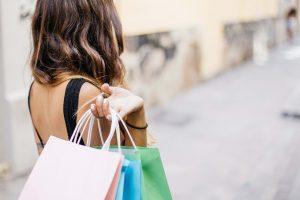 vásárlás nő