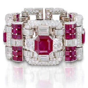 van cleef and arpels bracelet rubys