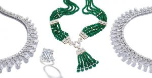 David Webb necklace emerald